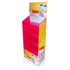 Point of Purchase Cardboard Display for Milky Tea pictures & photos