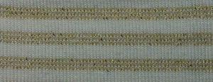 Versatile Fashion Gold Striped Rayon Spandex Jersey
