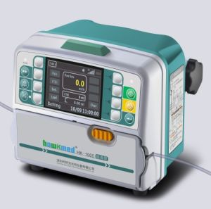 New Micro Volumetric Intravenous Infusion Pump with Drug Library & CE pictures & photos