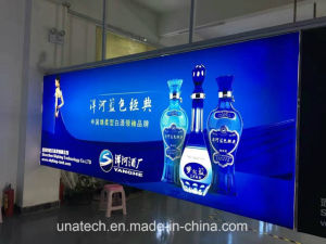 Framless Indoor LED Banner Advertising Media Light Box pictures & photos