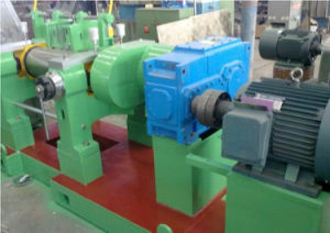 Two Roll Open Rubber Mixing Mill with Stock Blender pictures & photos