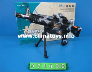 Cheap Plastic Toys B/O Sound Gun with Vibrate&Light (971006) pictures & photos