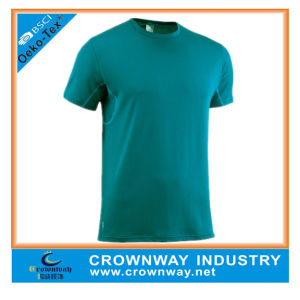 Cheap Plain Sport Dry Fit Running T Shirt for Men pictures & photos