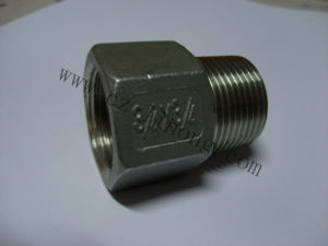 Stainless Steel Pipe Fitting DIN2999 316 Pipe Nipple From Pipe pictures & photos