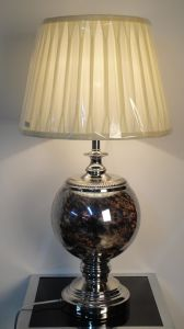 Modernglass Hotel Bedside Desk Lamp (6054-222T) pictures & photos