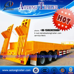 Hot Sale Heavy Duty Low Bed Semi Truck Trailer pictures & photos