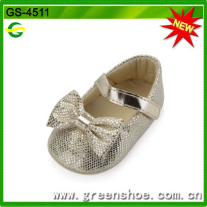 Good Quality Hot Selling Soft Baby Shoes (GS-4511) pictures & photos