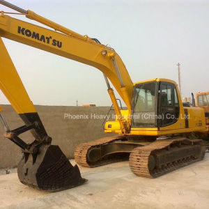 Japan PC220 Komatsu Used Excavator with 2002 Productive Year pictures & photos