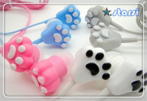 Cat Cheap Earphones for Girl (ST-E05)