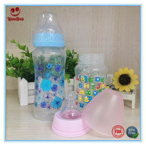 8oz/10oz Plastic Infant Milk Bottle with Printing pictures & photos