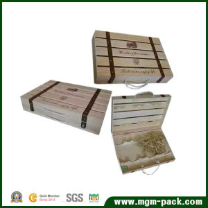 Super Quality Special Design Wooden Wine Box pictures & photos