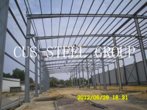 Cost Effective Prefab Steel Structure/Steel Frame Structure pictures & photos