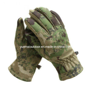 Military Tactical Softshell Gloves pictures & photos