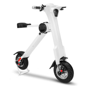 500W 22.5kg Golden Lightweight Folding Mobility Scooter with Samsung Battery pictures & photos