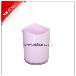 Hot Acrylic/Plastic Trash Bin (TS8015-G) pictures & photos