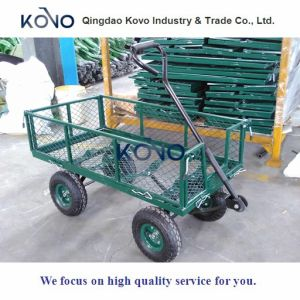 Wire Mesh Cart with New Structure Design pictures & photos