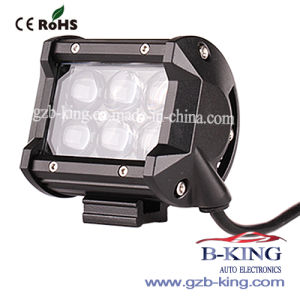 4inch 18W 4D LED Light Bar pictures & photos