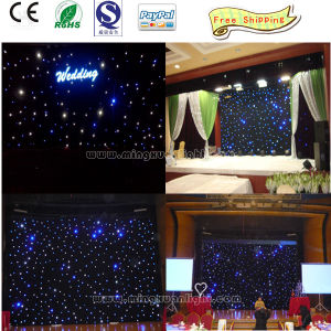 Super Quality Multicolor Twinkling Stars LED Curtain Lights pictures & photos
