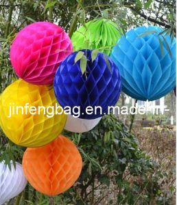 Wedding Tissue Paper Honeycomb Ball Decorations