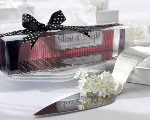 "Slice of Style"" Stainless Steel High Heel Cake Server for Wedding Articles & Retails /Wedding Favors/Wedding Gifts"