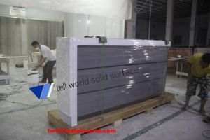 Coffee Shop Ready Made Solid Surface Bar Counter Wine Bar Counter pictures & photos