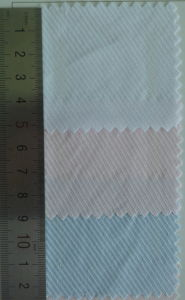 Twill 3 Color Cotton Dobby Shirt Fabric pictures & photos