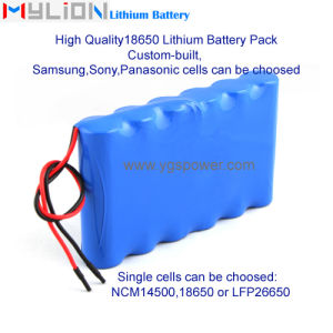 for Samsung Hight Quality Lithium Battery for Portable Device etc. 7.4V8.7ah