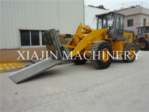 Mini 3tons Forklift Wheel Loader with Fork for Sale pictures & photos