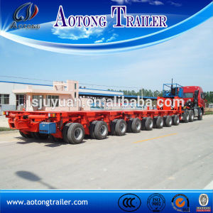 Hydraulic Modular Spmt Semi Trailer Heavy Hauling Equipment Hauler Lift pictures & photos