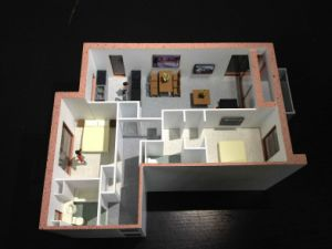 Architectural Model, Unit Model of Internal Layout (JW-390) pictures & photos