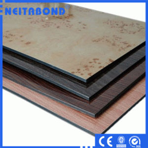 Fireproof Decoration Wall Materials PVDF Aluminum Composite Panel (ACP) pictures & photos
