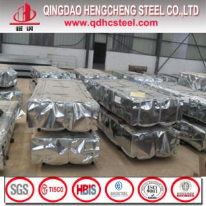Color Zinc Coated Corrugated Steel Roofing Sheet pictures & photos