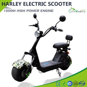 48V1000W Fat Tires Harley Citycoco Electric Scooter pictures & photos