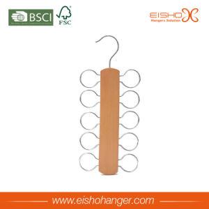 Ten Circles Wooden Scarves Hanger Tie Hanger Belt Hanger pictures & photos