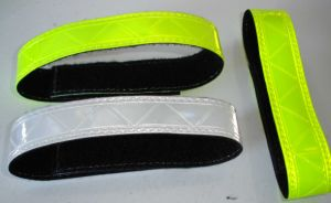 Reflective PVC Hook & Loop Arm Wrap