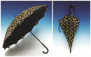 Manual Open Double Layers Straight Umbrella (SK-004) pictures & photos