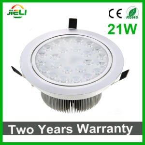 Big Power 21W AC85-265V Recessed LED Ceiling Light pictures & photos