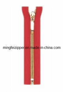 Mingfei 3# Nylon Gild Tooth Closed-End Zipper