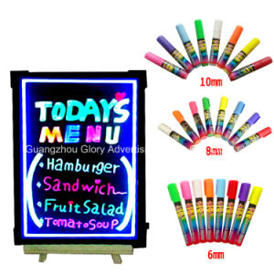 LED Writing Menu Board with Marker Pens pictures & photos