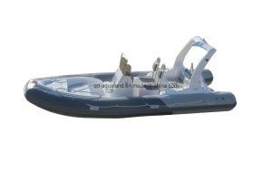 Aqualand 19feet 5.8m Fiberglass Fishing Boat/Rib Rigid Inflatable Boat (RIB580C) pictures & photos