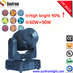 Wedding Decoration Brighter 60W LED Moving Head Spot pictures & photos