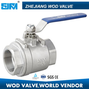 Heavy Type 2-PC Ball Valve 2000wog pictures & photos