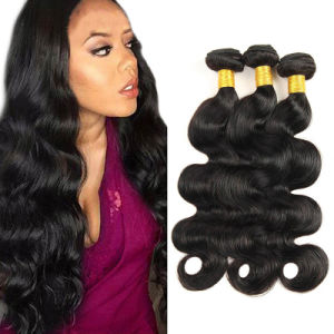 Rosa Hair Products Soft Brazilian Human Hair Weave Bundles pictures & photos