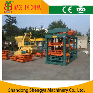 Automatic Hydraulic Concrete Solid Brick Production Line/Color Paver Brick Production Line pictures & photos