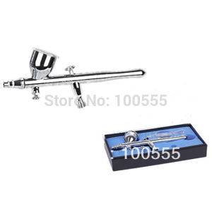 New Design 0.3/0.5/0.8mm 9cc Double-Action Hobby Airbrush Gun Gravity Feed Type Pr-320 pictures & photos