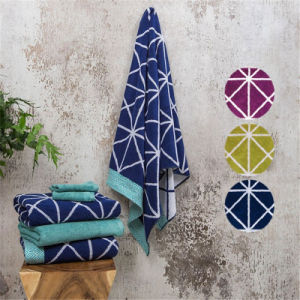 Top Quality Polyester Jacquard Beach Towel pictures & photos