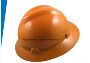 Full Brim Msa Safety Helmet Construction Site ABS Safety Helmet Insulation pictures & photos