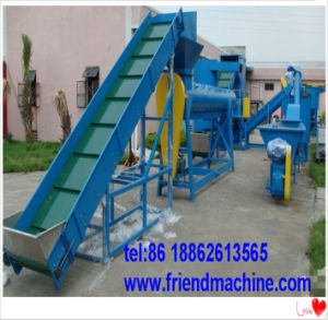 PE PP PS Plastic Bag Film Washing and Recycling Line pictures & photos