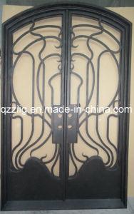 Popular Design Iron Door, Eyebrow Top
