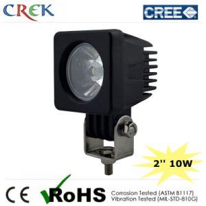 Black 2′′ 10W Square CREE Auto LED Work Driving Light (CK-WC0110B)